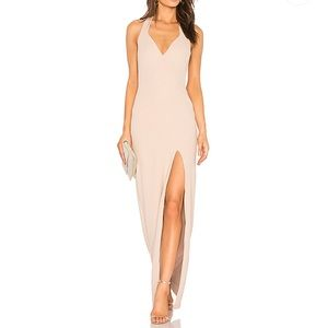 Nookie Medea Gown in Nude new tags
